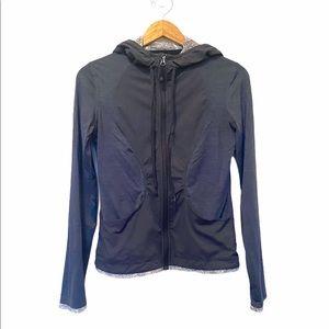 Lululemon Jackets Lightweight Hooded Gray Size 6
